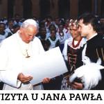 Wizyta u Jana Pawła II, Watykan, 1991 r.